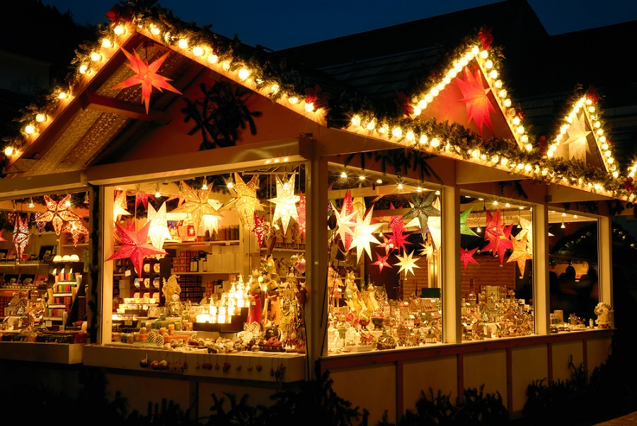 Discover some charming classic Christmas Market Stalls at the Darlington Christmas Market