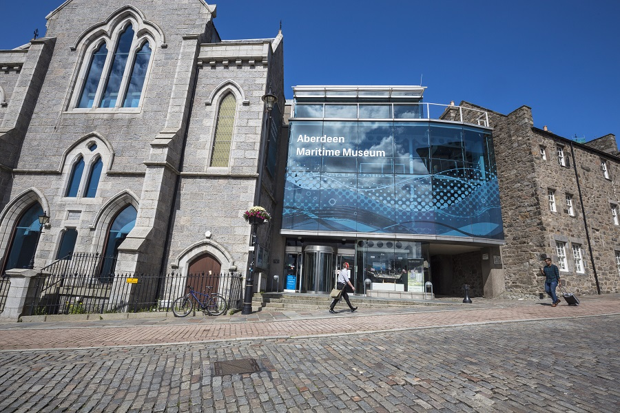 The Aberdeen Maritime Museum is a great place to visit on a day out in Scotland.