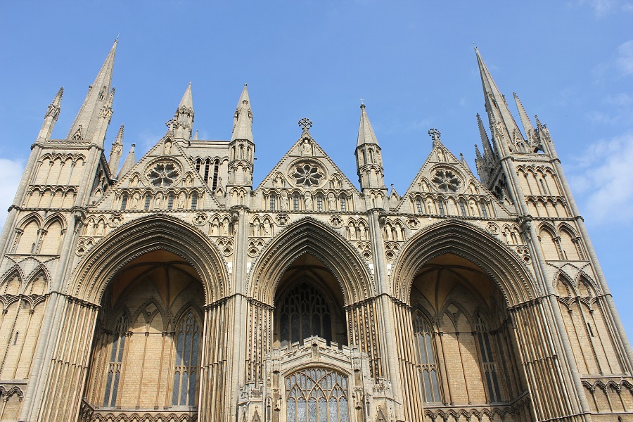 Peterborough is perhaps best known for its beautiful gothic cathedral.
