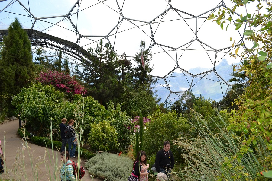 Eden Project Mediterranean Biome