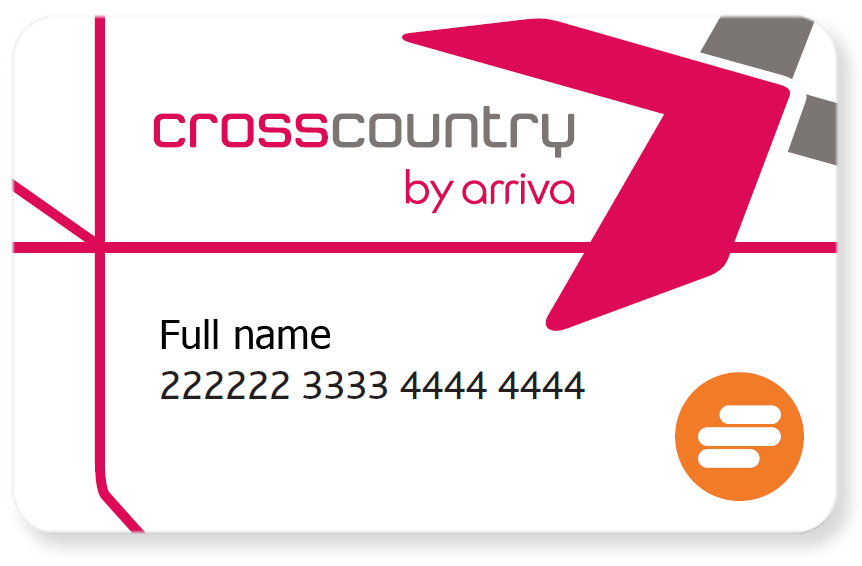 CrossCountry Trains Smartcard