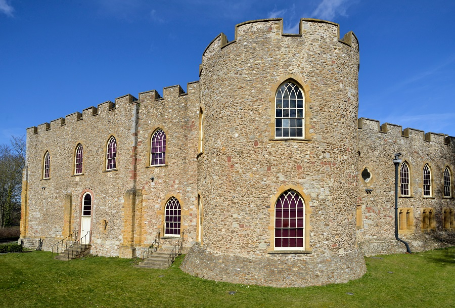 Taunton castle is home to the museum of Somerset, one of our favourite thins to do in Taunton.