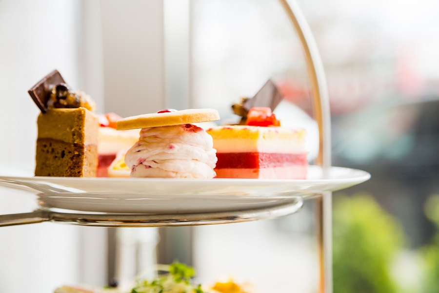 Indulging in a luxury afternoon tea is a must-do while visiting Taunton.