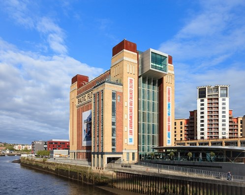 The Baltic in Newcastle is an art centre showcasing contemporary and experimental artwork and is free to enter.