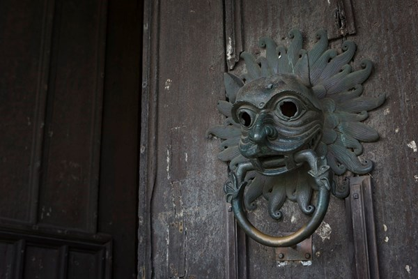The intricate iron sanctuary knocker on the North Door is a particular favourite.