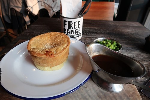Pieminister is a cheap eat option in Leeds.